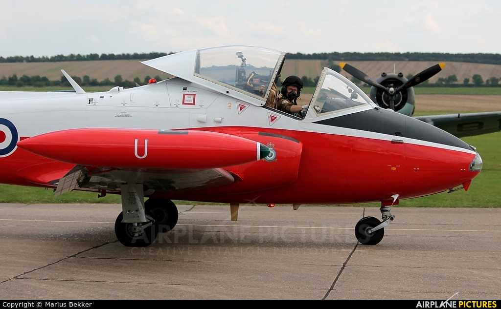 Private XW324 aircraft at Duxford