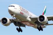 A6-EFM - Emirates Sky Cargo Boeing 777-200F aircraft