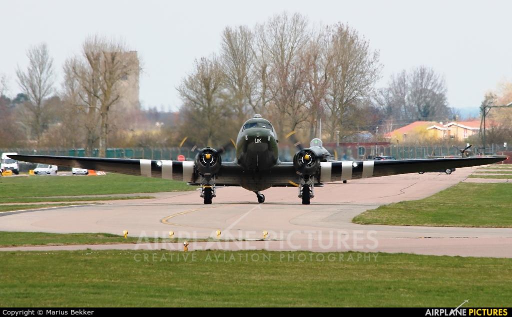 """Royal Air Force """"Battle of Britain Memorial Flight"""" ZA947 aircraft at Coningsby"""