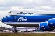 VQ-BLQ - Air Bridge Cargo Boeing 747-8F aircraft