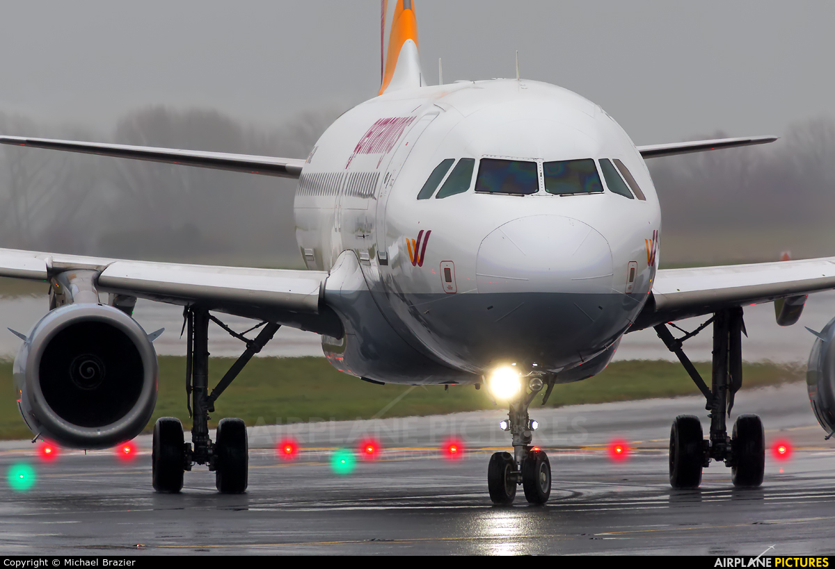 Germanwings D-AGWL aircraft at Manchester
