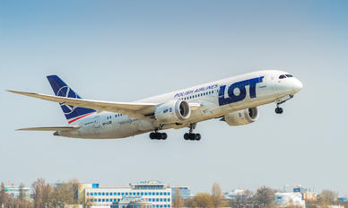 SP-LRD - LOT - Polish Airlines Boeing 787-8 Dreamliner