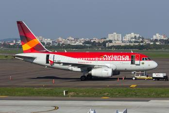 PR-AVO - Avianca Brasil Airbus A318