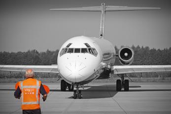 F-GMLX - Blue Line McDonnell Douglas MD-83