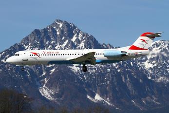OE-LVD - Austrian Airlines/Arrows/Tyrolean Fokker 100