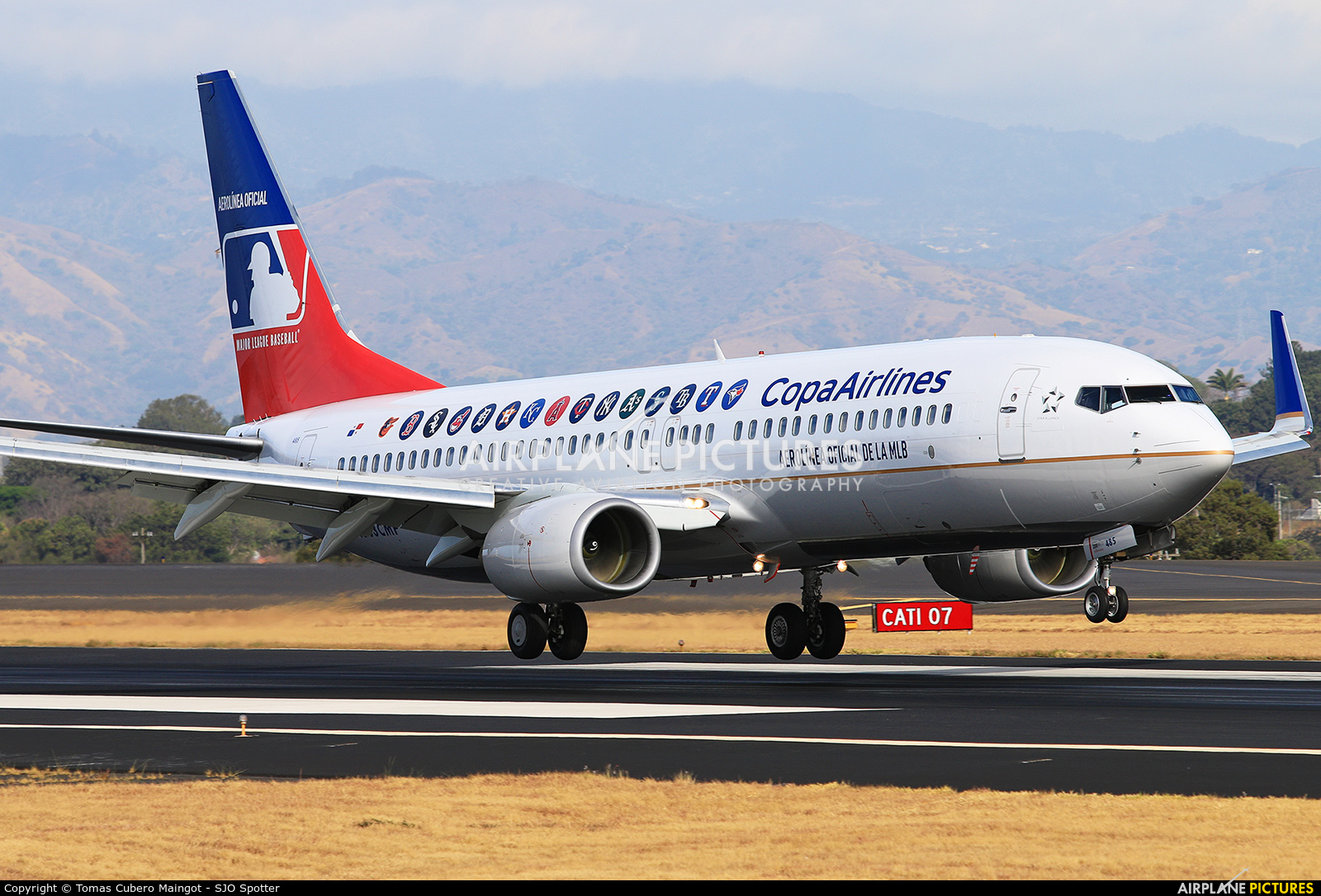Copa Airlines Boeing 737 8v3 Hp 1842cmp