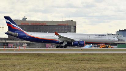 VQ-BMX - Aeroflot Airbus A330-300