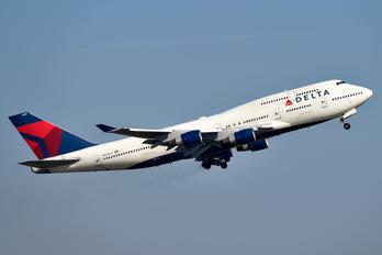 N665US - Delta Air Lines Boeing 747-400