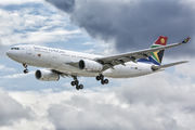 ZS-SXY - South African Airways Airbus A330-200 aircraft