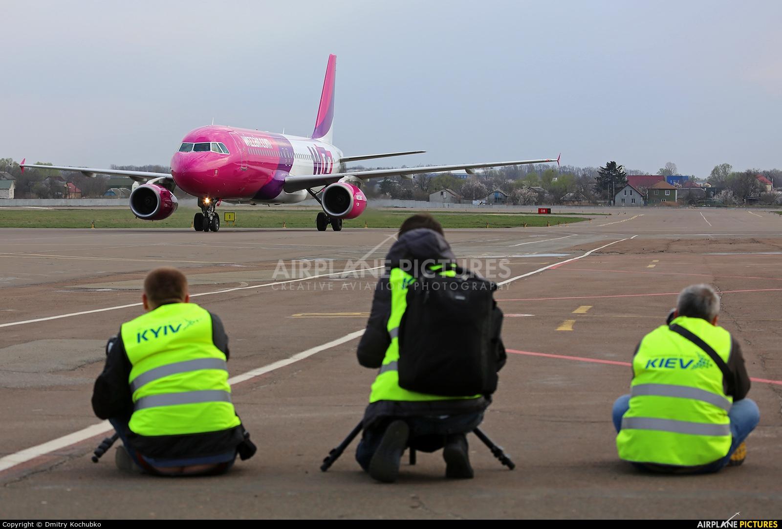 Wizz Air UR-WUA aircraft at Kiev - Zhulyany