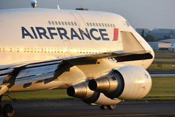 F-GITE - Air France Boeing 747-400
