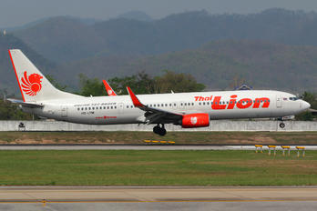 HS-LTM - Thai Lion Air Boeing 737-900ER