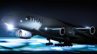 HS-TUA - Thai Airways Airbus A380