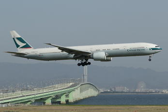 B-KQD - Cathay Pacific Boeing 777-300ER