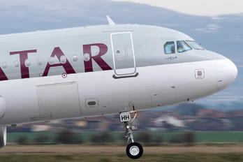 A7-AHH - Qatar Airways Airbus A320