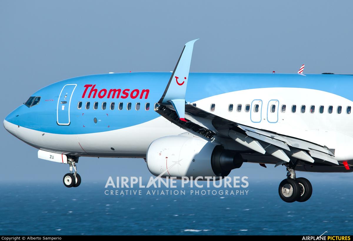 Thomson/Thomsonfly G-FDZU aircraft at Lanzarote - Arrecife