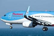G-FDZU - Thomson/Thomsonfly Boeing 737-800 aircraft