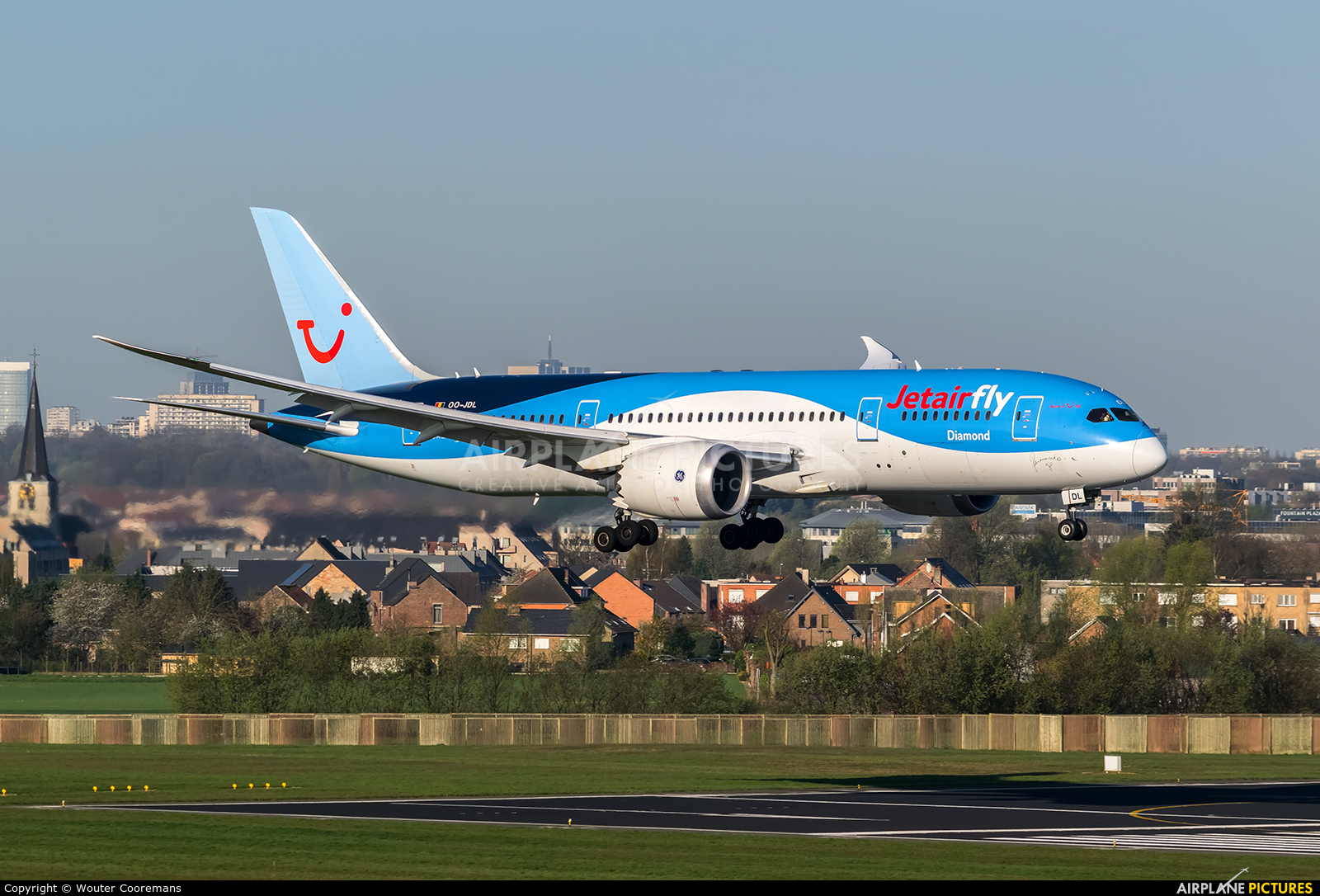 Jetairfly (TUI Airlines Belgium) OO-JDL aircraft at Brussels - Zaventem