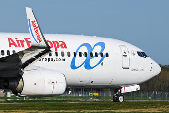 EC-JNF - Air Europa Boeing 737-800