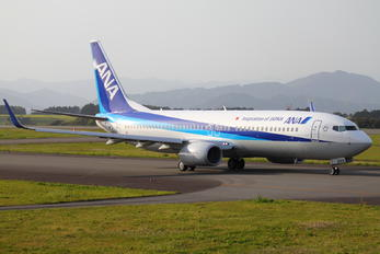 JA81AN - ANA - All Nippon Airways Boeing 737-800
