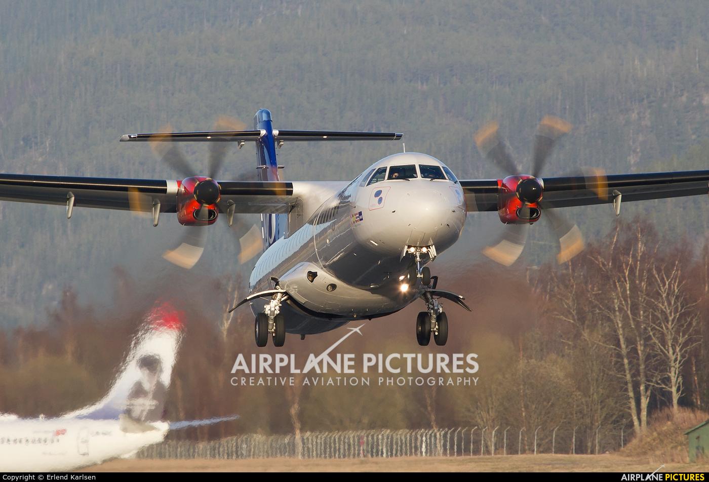 SAS - Scandinavian Airlines OY-JZE aircraft at Trondheim - Vaernes