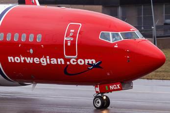 LN-NGX - Norwegian Air Shuttle Boeing 737-800