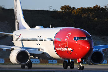EI-FHB - Norwegian Air Shuttle Boeing 737-800