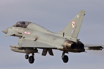 ZK380 - Royal Air Force Eurofighter Typhoon T.3