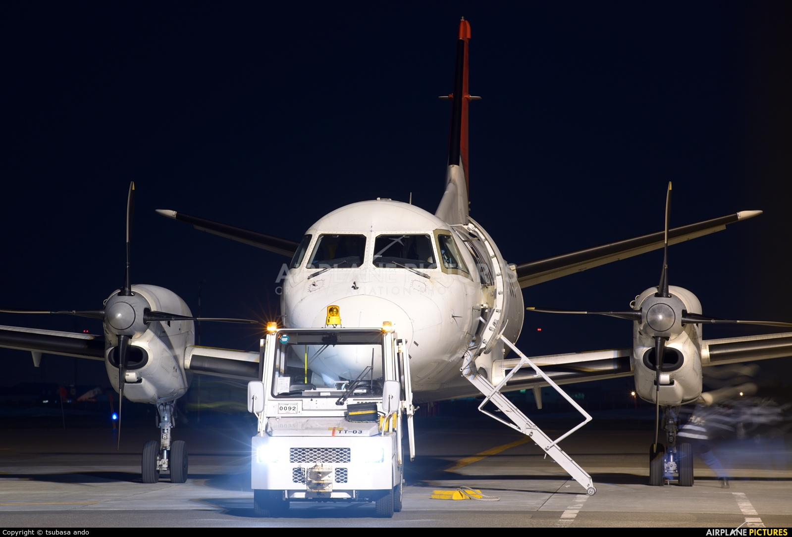 Hokkaido Air System JA02HC aircraft at Sapporo - Okadama