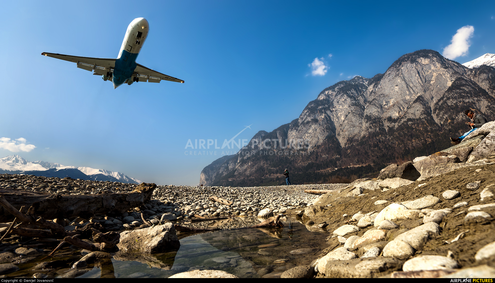 Austrian Airlines/Arrows/Tyrolean OE-LVD aircraft at Innsbruck