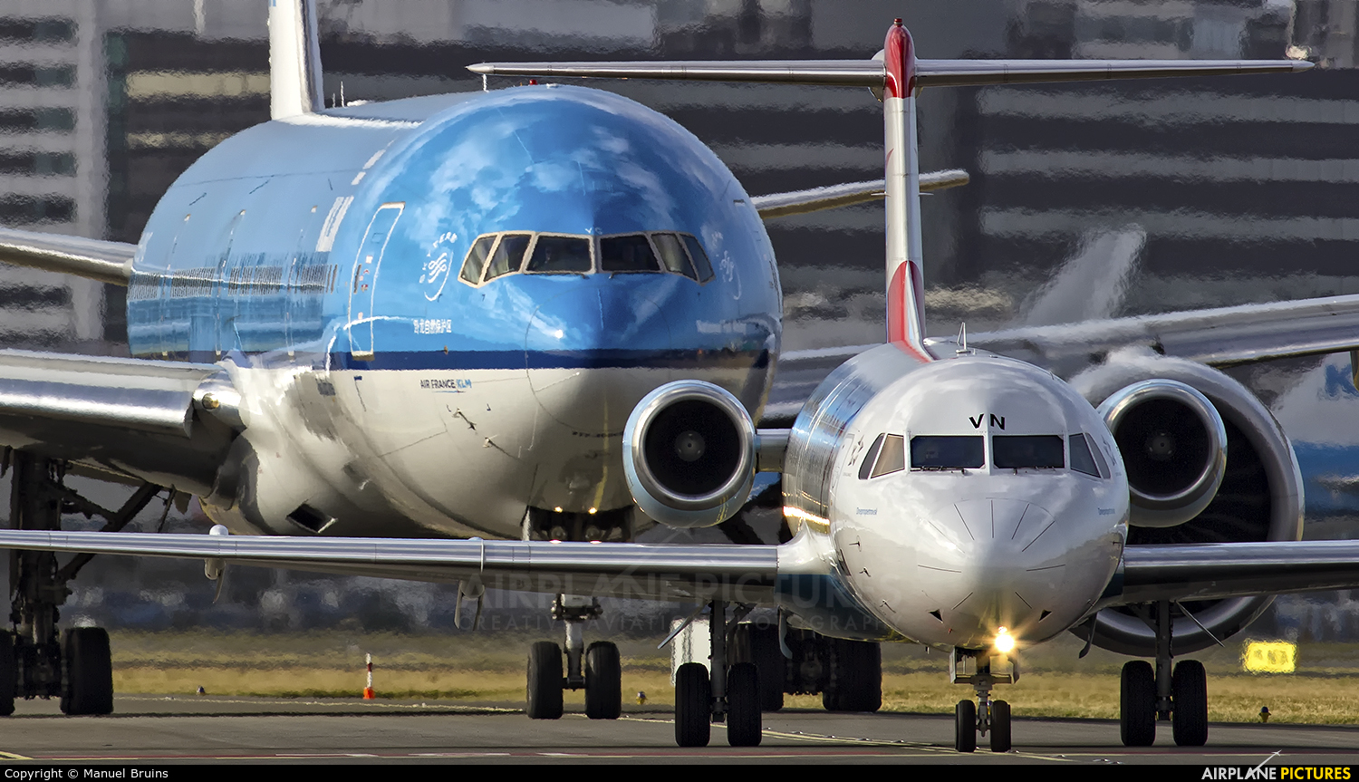 Austrian Airlines/Arrows/Tyrolean OE-LVN aircraft at Amsterdam - Schiphol