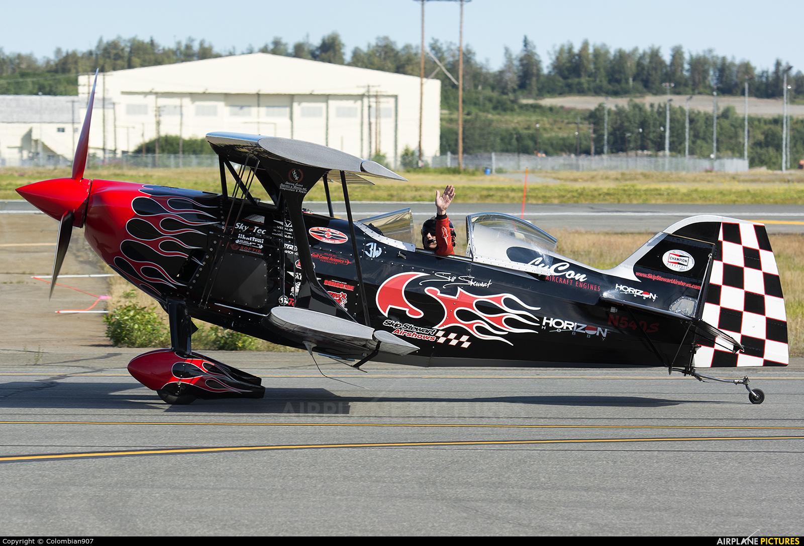 Skip Stewart Airshows N540SS aircraft at Elmendorf-Richardson JB