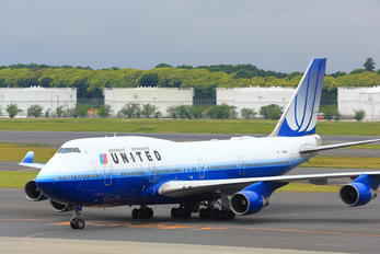 N174UA - United Airlines Boeing 747-400