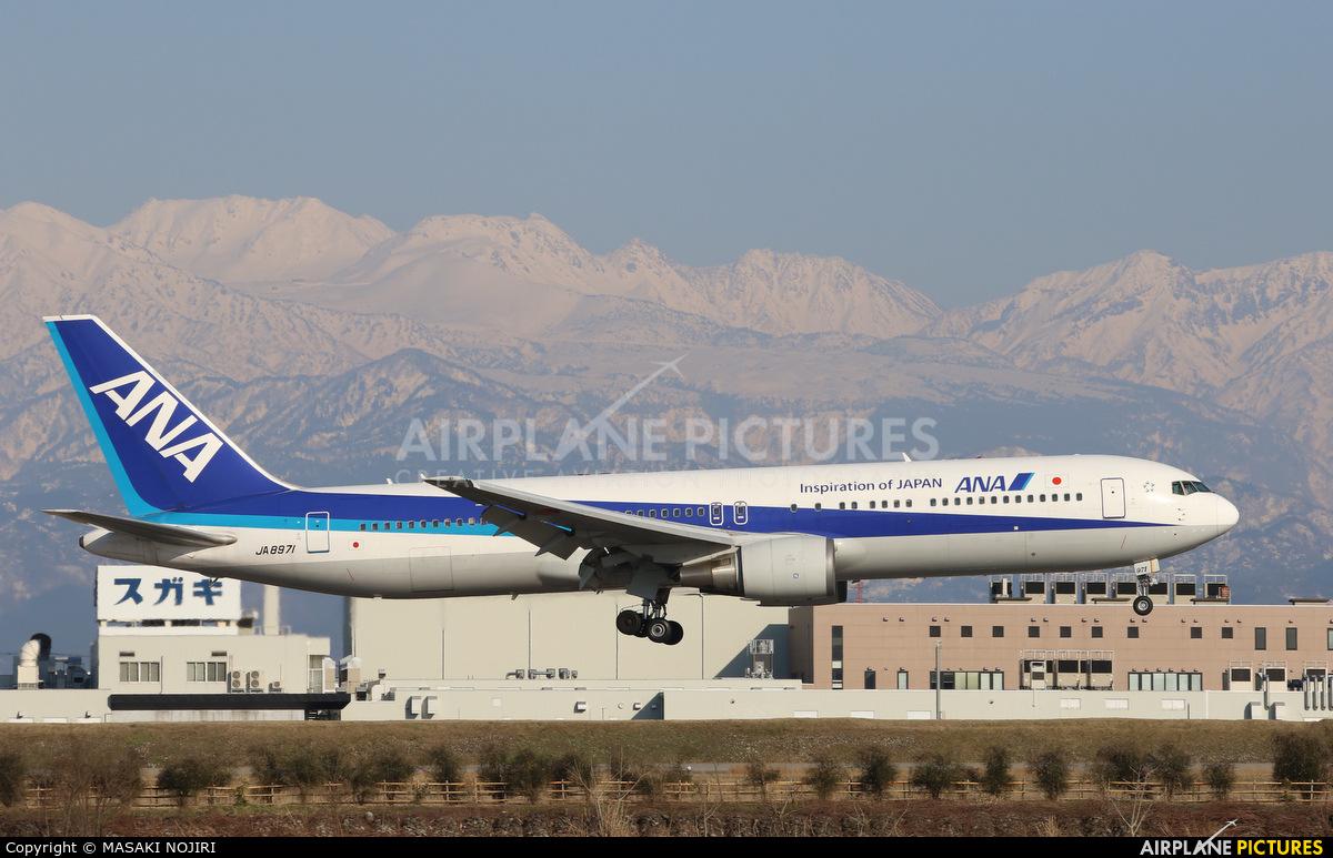 ANA - All Nippon Airways JA8971 aircraft at Toyama