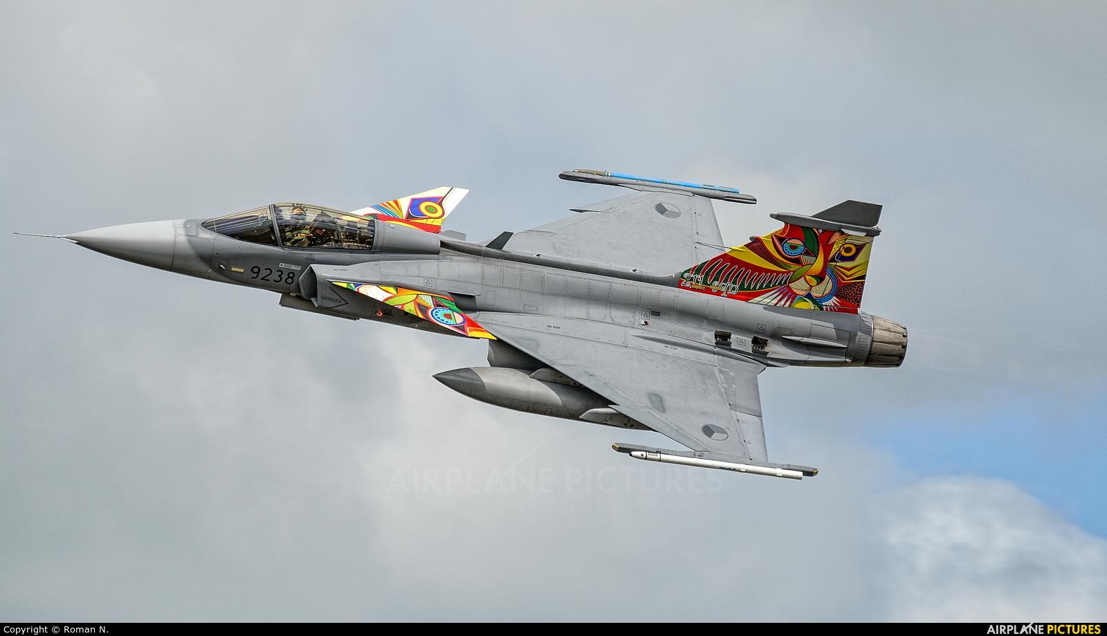 Czech - Air Force 9238 aircraft at Schleswig-Jagel