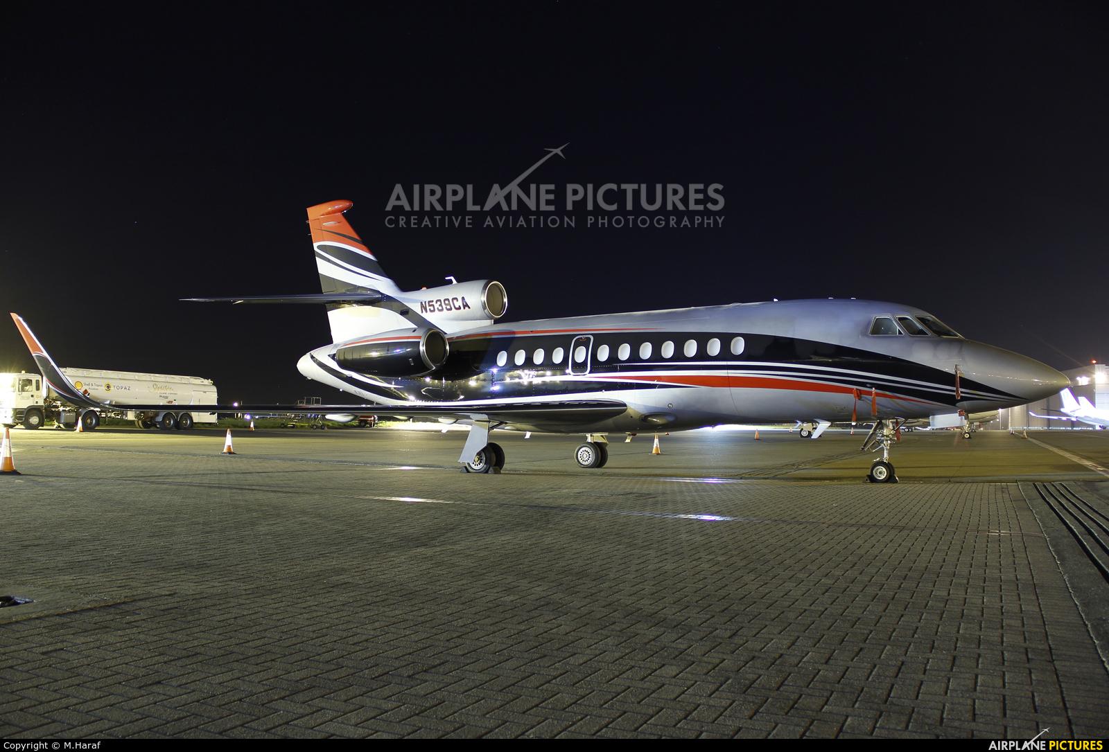 Private N539CA aircraft at Dublin