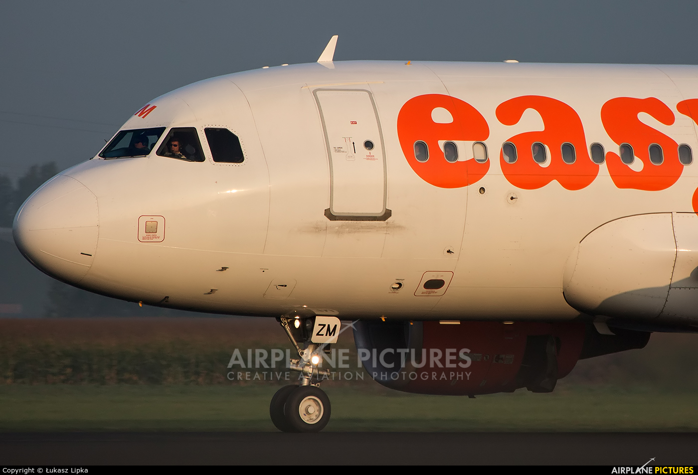 easyJet Switzerland HB-JZM aircraft at Amsterdam - Schiphol