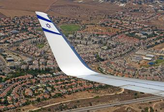 4X-EKC - El Al Israel Airlines Boeing 737-800