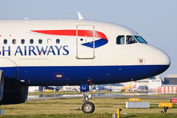 G-DBCJ - British Airways Airbus A319