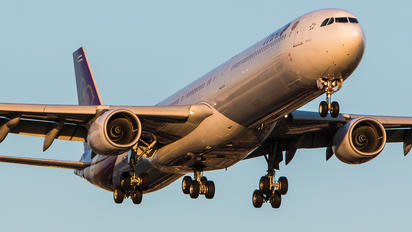 HS-TND - Thai Airways Airbus A340-600