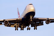 G-CIVR - British Airways Boeing 747-400 aircraft