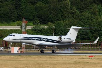 N5000X - Private Gulfstream Aerospace G-V, G-V-SP, G500, G550