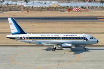HS-TYR - Thailand - Air Force Airbus A319 CJ