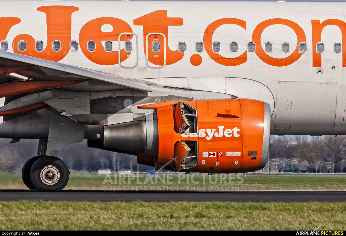easyJet G-EZDR aircraft at Amsterdam - Schiphol