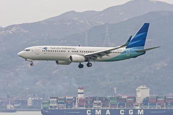 PK-GFU - Garuda Indonesia Boeing 737-800