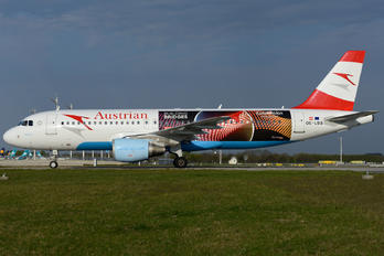 OE-LBS - Austrian Airlines/Arrows/Tyrolean Airbus A320