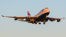 G-BNLK - British Airways Boeing 747-400 aircraft
