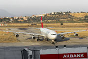 TC-JDN - Turkish Airlines Airbus A340-300 aircraft