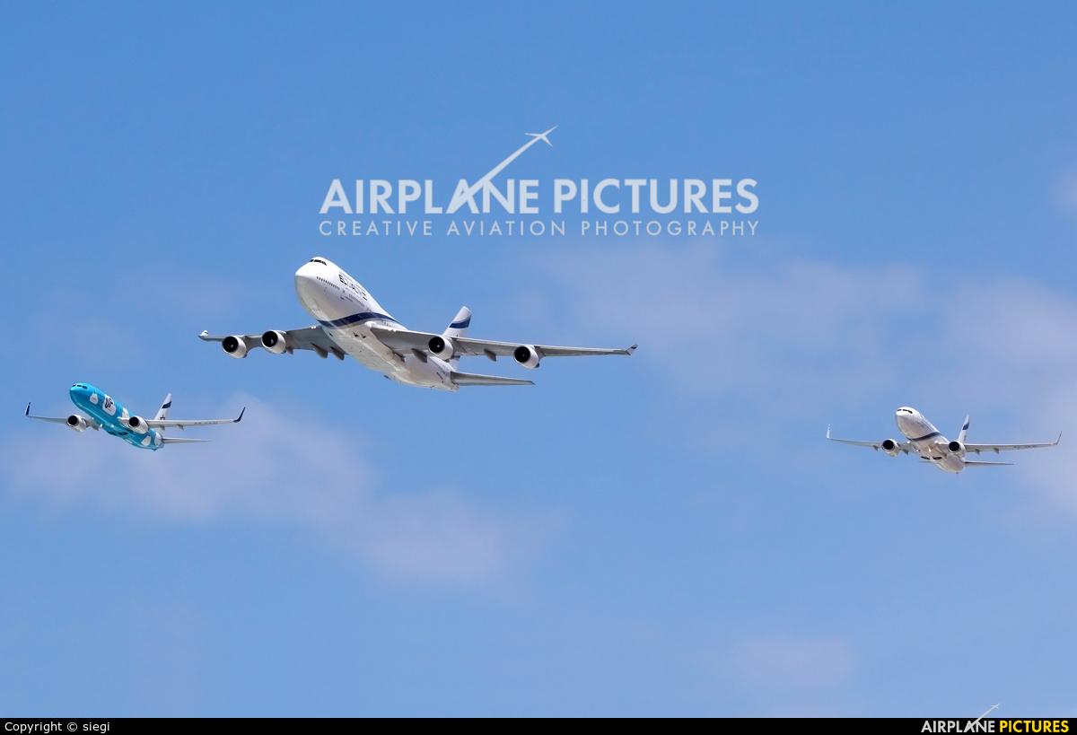 El Al Israel Airlines 4X-ELB aircraft at Off Airport - Israel