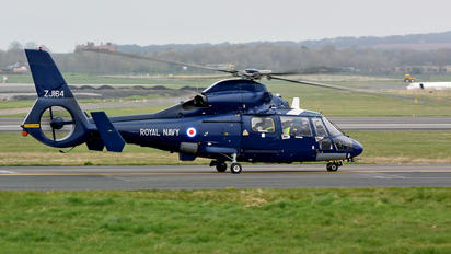 ZJ164 - Royal Navy Aerospatiale AS365 Dauphin II